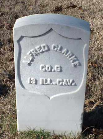 CLARKE (VETERAN UNION), ALFRED - Pulaski County, Arkansas | ALFRED CLARKE (VETERAN UNION) - Arkansas Gravestone Photos