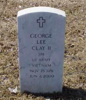 CLAY II (VETERAN VIET), GEORGE LEE - Pulaski County, Arkansas | GEORGE LEE CLAY II (VETERAN VIET) - Arkansas Gravestone Photos
