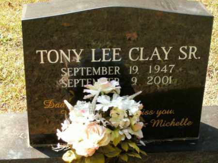 CLAY, SR., TONY LEE - Pulaski County, Arkansas | TONY LEE CLAY, SR. - Arkansas Gravestone Photos
