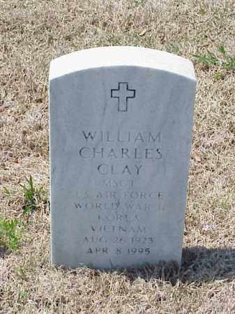 CLAY (VETERAN 3 WARS), WILLIAM CHARLES - Pulaski County, Arkansas | WILLIAM CHARLES CLAY (VETERAN 3 WARS) - Arkansas Gravestone Photos