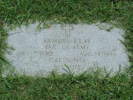 CLAY (VETERAN), SAMUEL - Pulaski County, Arkansas | SAMUEL CLAY (VETERAN) - Arkansas Gravestone Photos