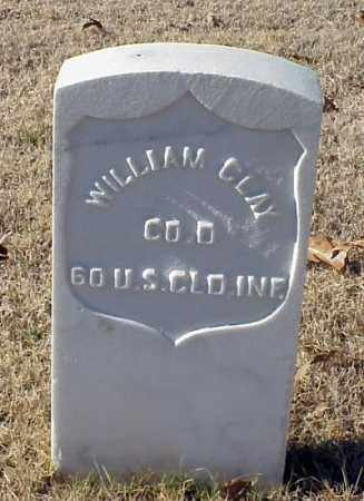 CLAY (VETERAN UNION), WILLIAM - Pulaski County, Arkansas | WILLIAM CLAY (VETERAN UNION) - Arkansas Gravestone Photos