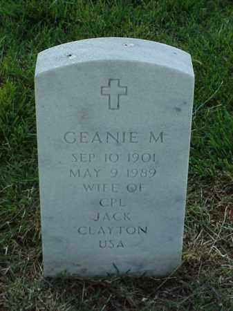 CLAYTON, GEANIE M - Pulaski County, Arkansas | GEANIE M CLAYTON - Arkansas Gravestone Photos