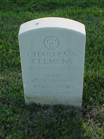 CLEMENS (VETERAN WWI), CHARLES S - Pulaski County, Arkansas | CHARLES S CLEMENS (VETERAN WWI) - Arkansas Gravestone Photos
