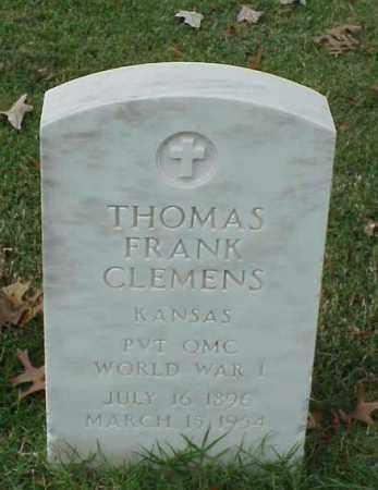 CLEMENS (VETERAN WWI), THOMAS FRANK - Pulaski County, Arkansas | THOMAS FRANK CLEMENS (VETERAN WWI) - Arkansas Gravestone Photos