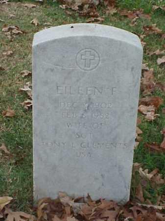 CLEMENTS, EILEEN F - Pulaski County, Arkansas | EILEEN F CLEMENTS - Arkansas Gravestone Photos