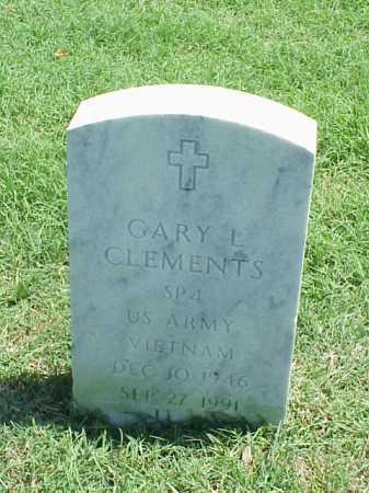 CLEMENTS (VETERAN VIET), GARY L - Pulaski County, Arkansas   GARY L CLEMENTS (VETERAN VIET) - Arkansas Gravestone Photos