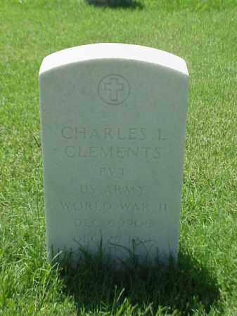 CLEMENTS (VETERAN WWII), CHARLES L - Pulaski County, Arkansas | CHARLES L CLEMENTS (VETERAN WWII) - Arkansas Gravestone Photos