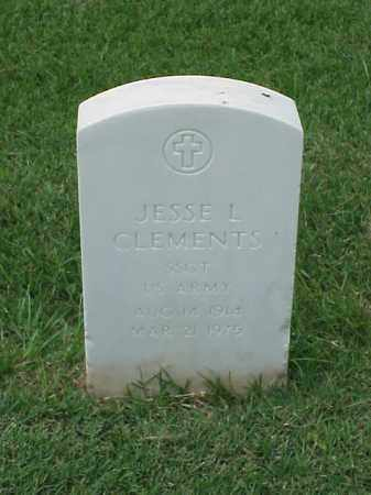 CLEMENTS (VETERAN WWII), JESSE L - Pulaski County, Arkansas | JESSE L CLEMENTS (VETERAN WWII) - Arkansas Gravestone Photos