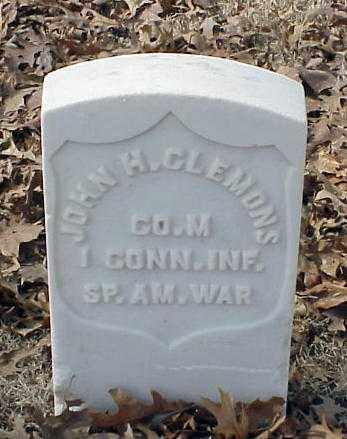CLEMONS (VETERAN SAW), JOHN H - Pulaski County, Arkansas | JOHN H CLEMONS (VETERAN SAW) - Arkansas Gravestone Photos