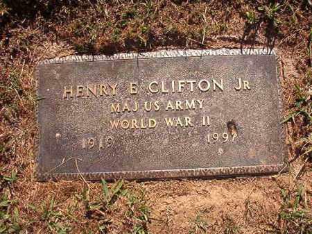 CLIFTON, JR (VETERAN WWII), HENRY E - Pulaski County, Arkansas   HENRY E CLIFTON, JR (VETERAN WWII) - Arkansas Gravestone Photos
