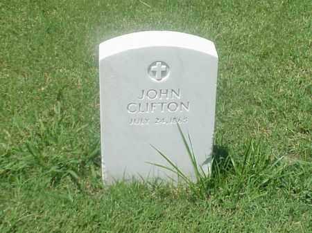 CLIFTON, JOHN - Pulaski County, Arkansas | JOHN CLIFTON - Arkansas Gravestone Photos
