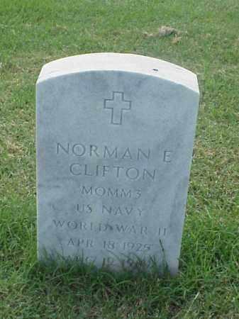 CLIFTON (VETERAN WWII), NORMAN E - Pulaski County, Arkansas | NORMAN E CLIFTON (VETERAN WWII) - Arkansas Gravestone Photos