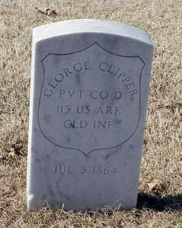 CLIPPER (VETERAN UNION), GEORGE - Pulaski County, Arkansas | GEORGE CLIPPER (VETERAN UNION) - Arkansas Gravestone Photos