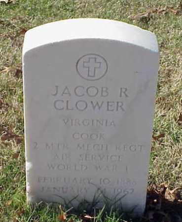 CLOWER (VETERAN WWI), JACOB R - Pulaski County, Arkansas | JACOB R CLOWER (VETERAN WWI) - Arkansas Gravestone Photos