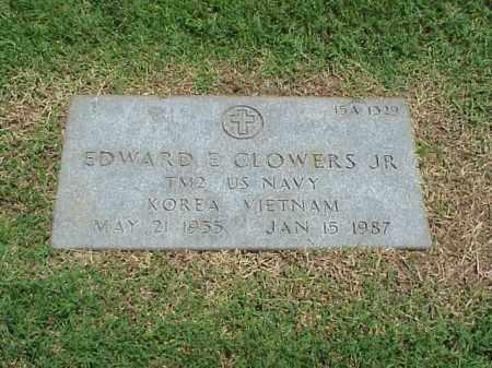 CLOWERS, JR (VETERAN 2 WARS), EDWARD E - Pulaski County, Arkansas | EDWARD E CLOWERS, JR (VETERAN 2 WARS) - Arkansas Gravestone Photos