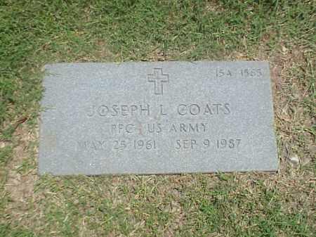 COATS (VETERAN), JOSEPH L - Pulaski County, Arkansas | JOSEPH L COATS (VETERAN) - Arkansas Gravestone Photos