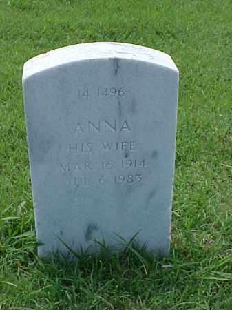 COBB, ANNA - Pulaski County, Arkansas | ANNA COBB - Arkansas Gravestone Photos