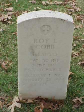COBB (VETERAN WWII), ROY L - Pulaski County, Arkansas | ROY L COBB (VETERAN WWII) - Arkansas Gravestone Photos