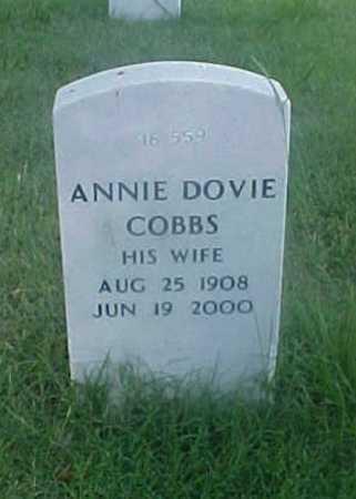COBBS, ANNIE DOVIE - Pulaski County, Arkansas | ANNIE DOVIE COBBS - Arkansas Gravestone Photos
