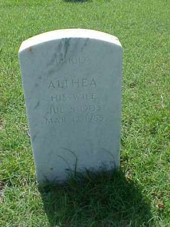 COCHRAN, ALTHEA - Pulaski County, Arkansas | ALTHEA COCHRAN - Arkansas Gravestone Photos