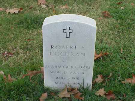 COCHRAN (VETERAN WWII), ROBERT E - Pulaski County, Arkansas | ROBERT E COCHRAN (VETERAN WWII) - Arkansas Gravestone Photos