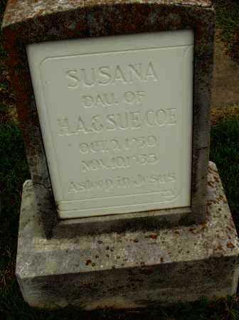 COE, SUSAN - Pulaski County, Arkansas | SUSAN COE - Arkansas Gravestone Photos