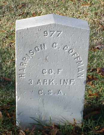 COFFMAN (VETERAN CSA), HARRISON C - Pulaski County, Arkansas | HARRISON C COFFMAN (VETERAN CSA) - Arkansas Gravestone Photos
