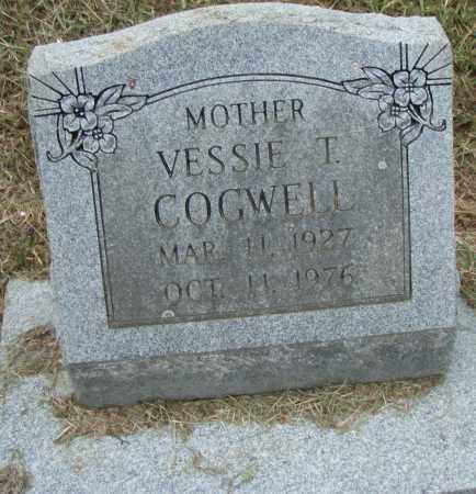 COGWELL, VESSIE T. - Pulaski County, Arkansas | VESSIE T. COGWELL - Arkansas Gravestone Photos