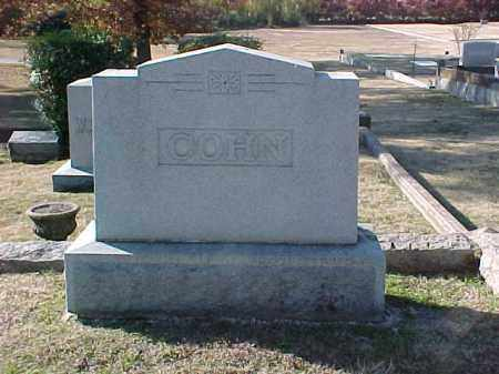 COHN FAMILY STONE,  - Pulaski County, Arkansas    COHN FAMILY STONE - Arkansas Gravestone Photos