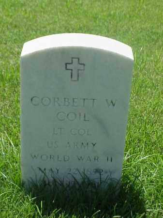 COIL (VETERAN WWII), CORBETT W - Pulaski County, Arkansas   CORBETT W COIL (VETERAN WWII) - Arkansas Gravestone Photos
