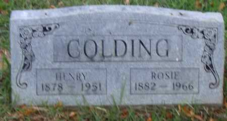 COLDING, HENRY - Pulaski County, Arkansas | HENRY COLDING - Arkansas Gravestone Photos