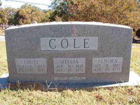 COLE, OTELIA - Pulaski County, Arkansas | OTELIA COLE - Arkansas Gravestone Photos