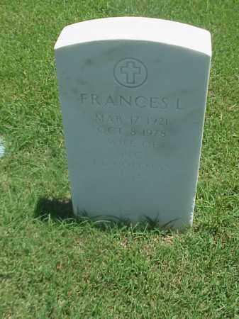 COLEMAN, FRANCES L - Pulaski County, Arkansas | FRANCES L COLEMAN - Arkansas Gravestone Photos