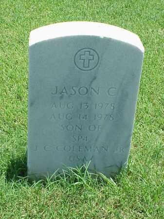 COLEMAN, JASON C - Pulaski County, Arkansas   JASON C COLEMAN - Arkansas Gravestone Photos