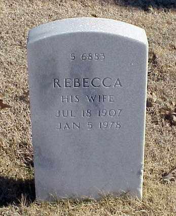 COLEMAN, REBECCA - Pulaski County, Arkansas | REBECCA COLEMAN - Arkansas Gravestone Photos