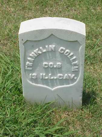 COLLEM (VETERAN UNION), FRANKLIN - Pulaski County, Arkansas | FRANKLIN COLLEM (VETERAN UNION) - Arkansas Gravestone Photos