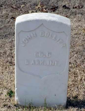 COLLIER (VETERAN UNION), JOHN - Pulaski County, Arkansas   JOHN COLLIER (VETERAN UNION) - Arkansas Gravestone Photos