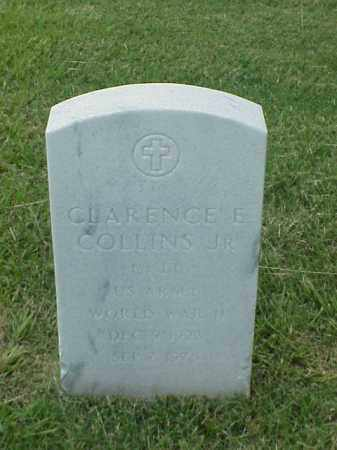 COLLINS, JR (VETERAN WWII), CLARENCE E - Pulaski County, Arkansas | CLARENCE E COLLINS, JR (VETERAN WWII) - Arkansas Gravestone Photos