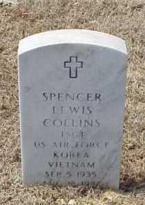 COLLINS (VETERAN 2 WARS), SPENCER LEWIS - Pulaski County, Arkansas | SPENCER LEWIS COLLINS (VETERAN 2 WARS) - Arkansas Gravestone Photos