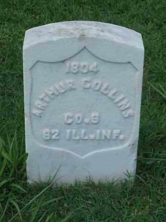 COLLINS (VETERAN UNION), ARTHUR - Pulaski County, Arkansas | ARTHUR COLLINS (VETERAN UNION) - Arkansas Gravestone Photos