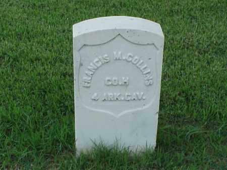COLLINS (VETERAN UNION), FRANCIS M - Pulaski County, Arkansas | FRANCIS M COLLINS (VETERAN UNION) - Arkansas Gravestone Photos
