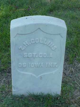 COLLINS (VETERAN UNION), ZELLECK  H - Pulaski County, Arkansas | ZELLECK  H COLLINS (VETERAN UNION) - Arkansas Gravestone Photos