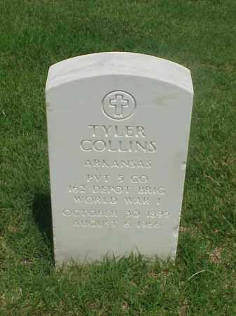COLLINS (VETERAN WWI), TYLER - Pulaski County, Arkansas | TYLER COLLINS (VETERAN WWI) - Arkansas Gravestone Photos