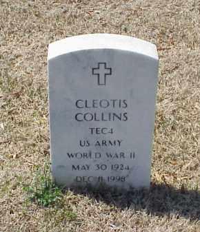 COLLINS (VETERAN WWII), CLEOTIS - Pulaski County, Arkansas   CLEOTIS COLLINS (VETERAN WWII) - Arkansas Gravestone Photos
