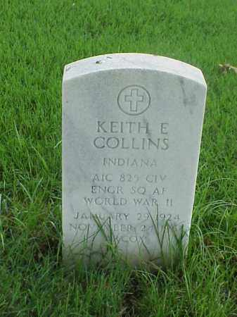COLLINS (VETERAN WWII), KEITH E - Pulaski County, Arkansas   KEITH E COLLINS (VETERAN WWII) - Arkansas Gravestone Photos
