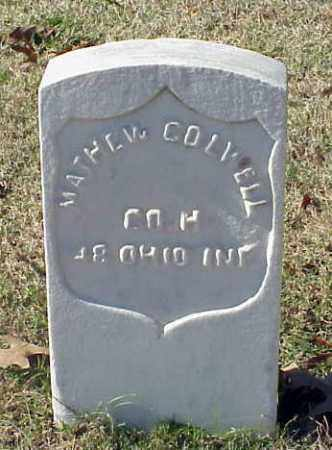 COLWELL (VETERAN UNION), MATHEW - Pulaski County, Arkansas | MATHEW COLWELL (VETERAN UNION) - Arkansas Gravestone Photos