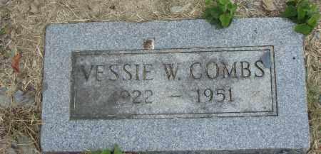 COMBS, VESSIE W. - Pulaski County, Arkansas | VESSIE W. COMBS - Arkansas Gravestone Photos