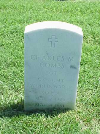 COMBS (VETERAN 2 WARS), CHARLES M - Pulaski County, Arkansas   CHARLES M COMBS (VETERAN 2 WARS) - Arkansas Gravestone Photos