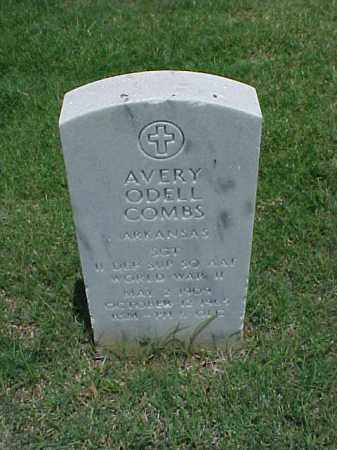 COMBS (VETERAN WWII), AVERY ODELL - Pulaski County, Arkansas   AVERY ODELL COMBS (VETERAN WWII) - Arkansas Gravestone Photos